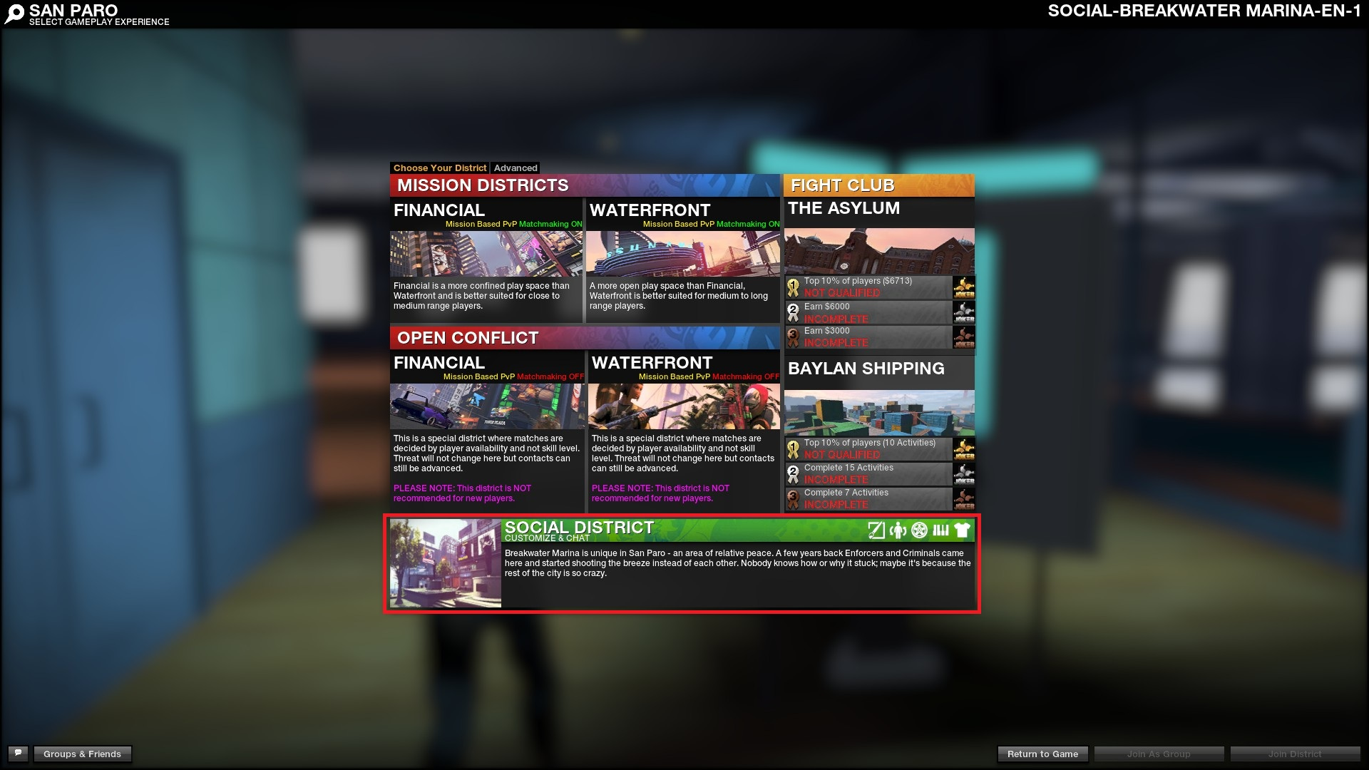 Apb reloaded matchmaking