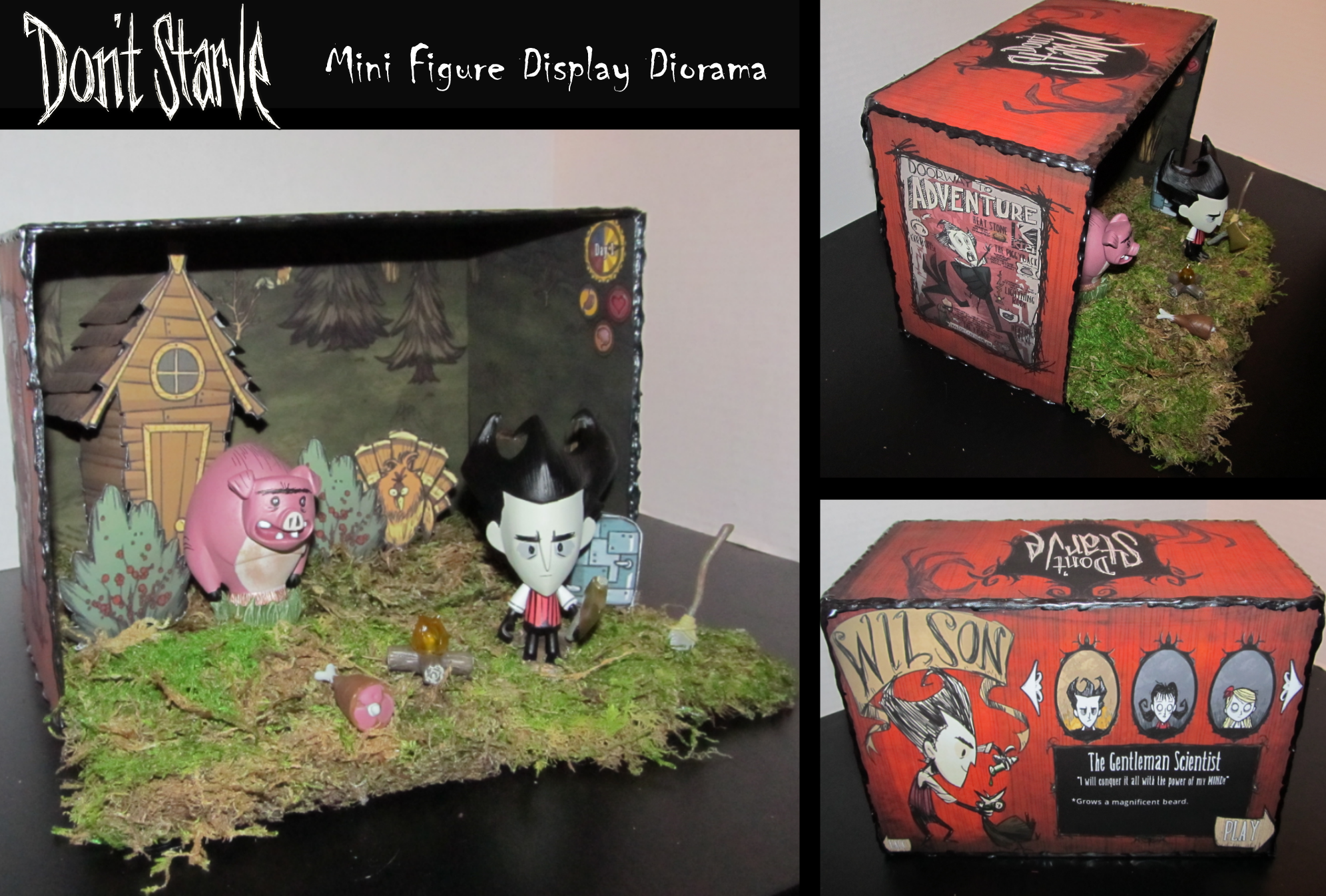Steam Community :: :: Don't Starve Diorama Display Project