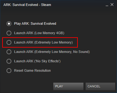Steam Community :: Guide :: Run Extremely Low Memory, with sound