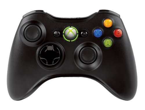 Xbox 360 wireless controller w/transforming d-pad and play and.