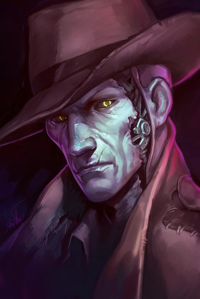 Steam Community Art Nick Valentine