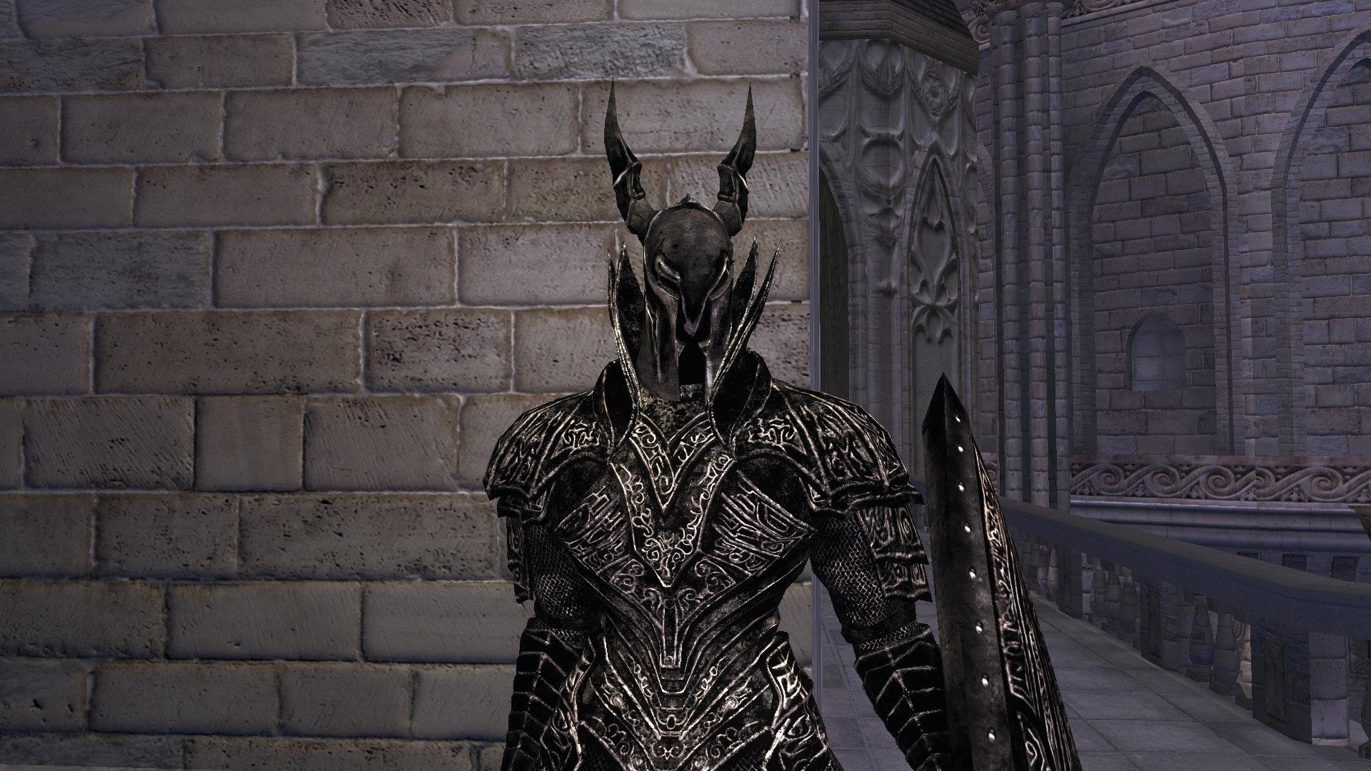 темный рыцарь анимация скайрим