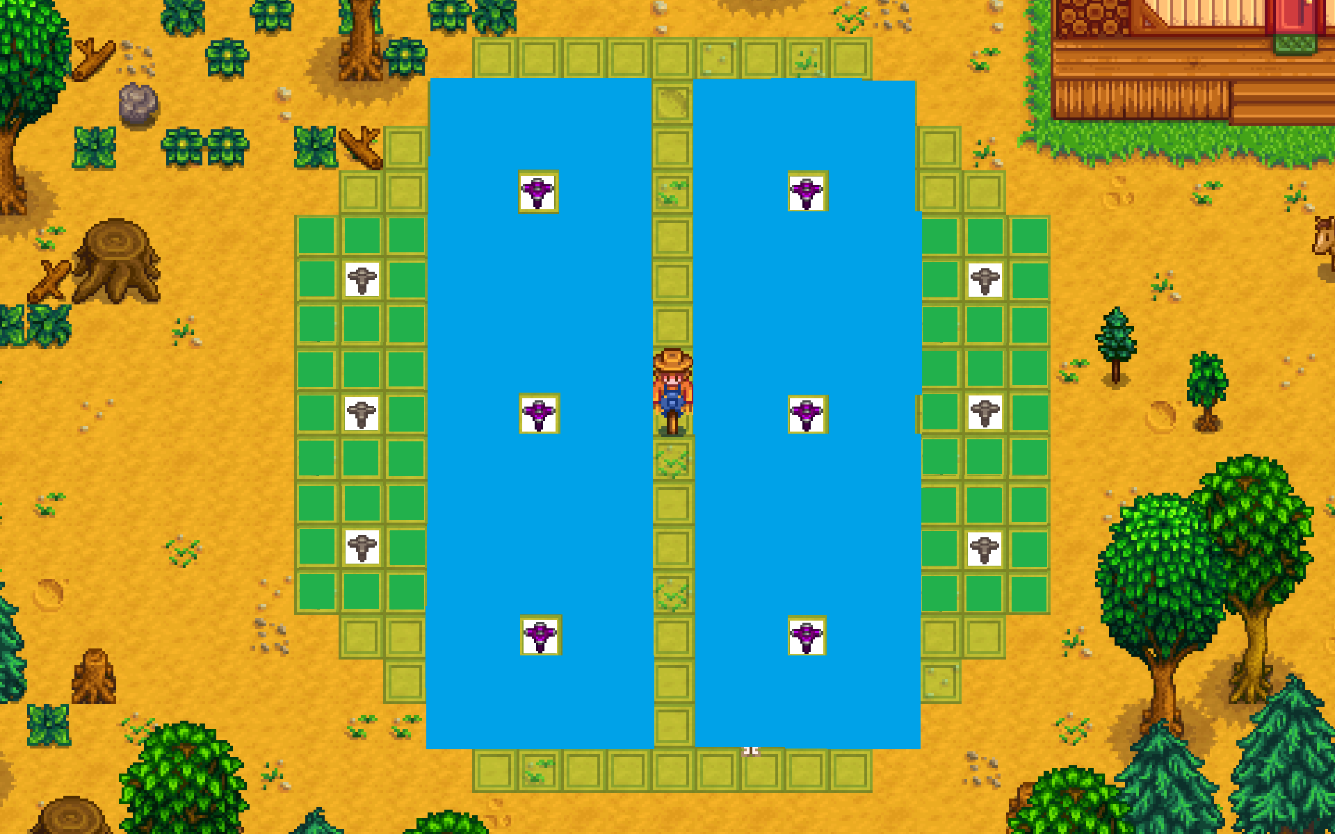 stardew valley guide wooden trallis