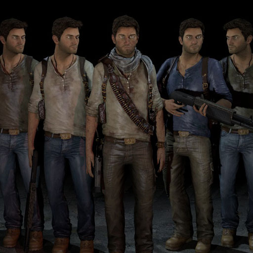uncharted 1 nathan drake outfit