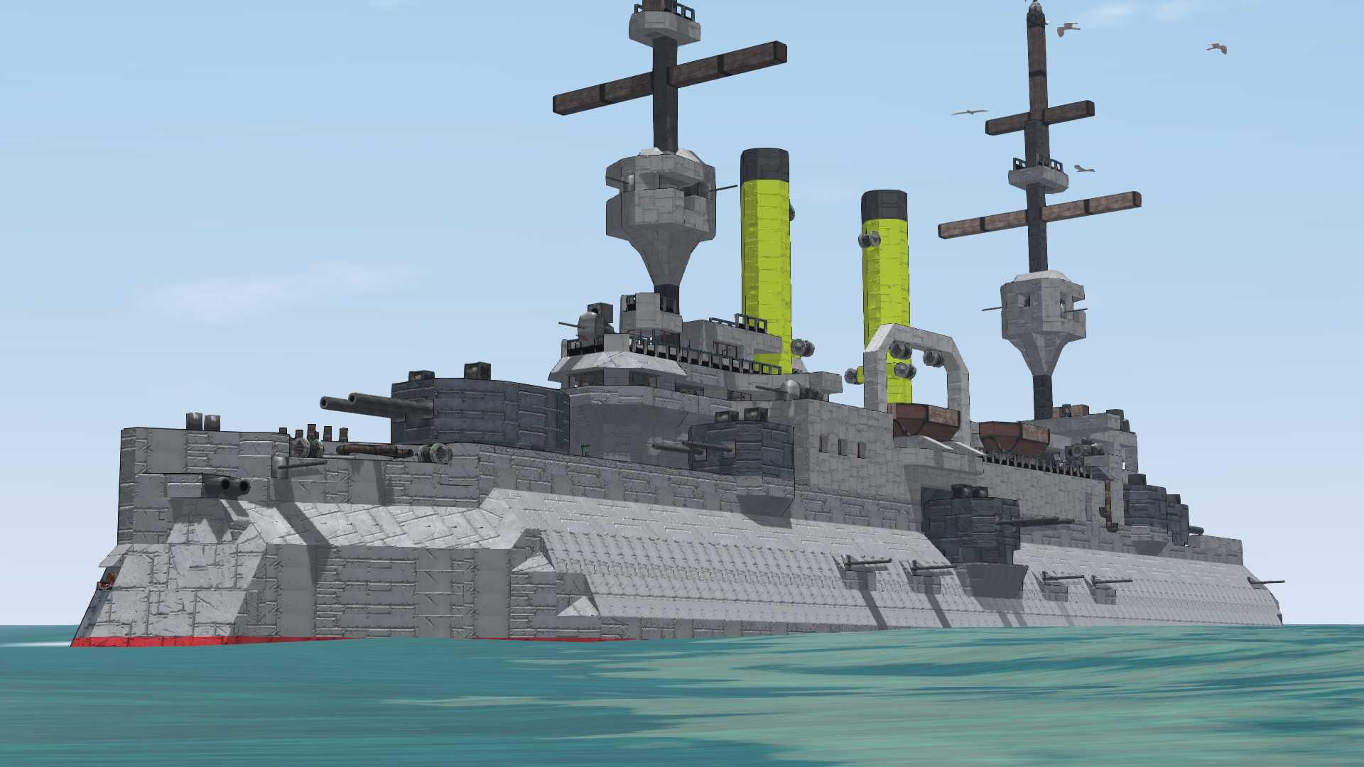 Tsesarevich Is A Historical Russian Battleship Which Saw Combat In The  1904/05 Russo Japanese War And Also In The First World War.