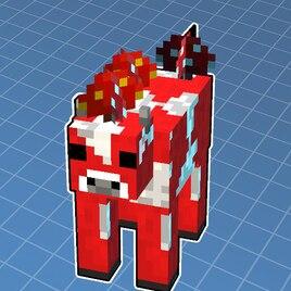 Steam Workshop :: Minecraft: Mooshroom Cow