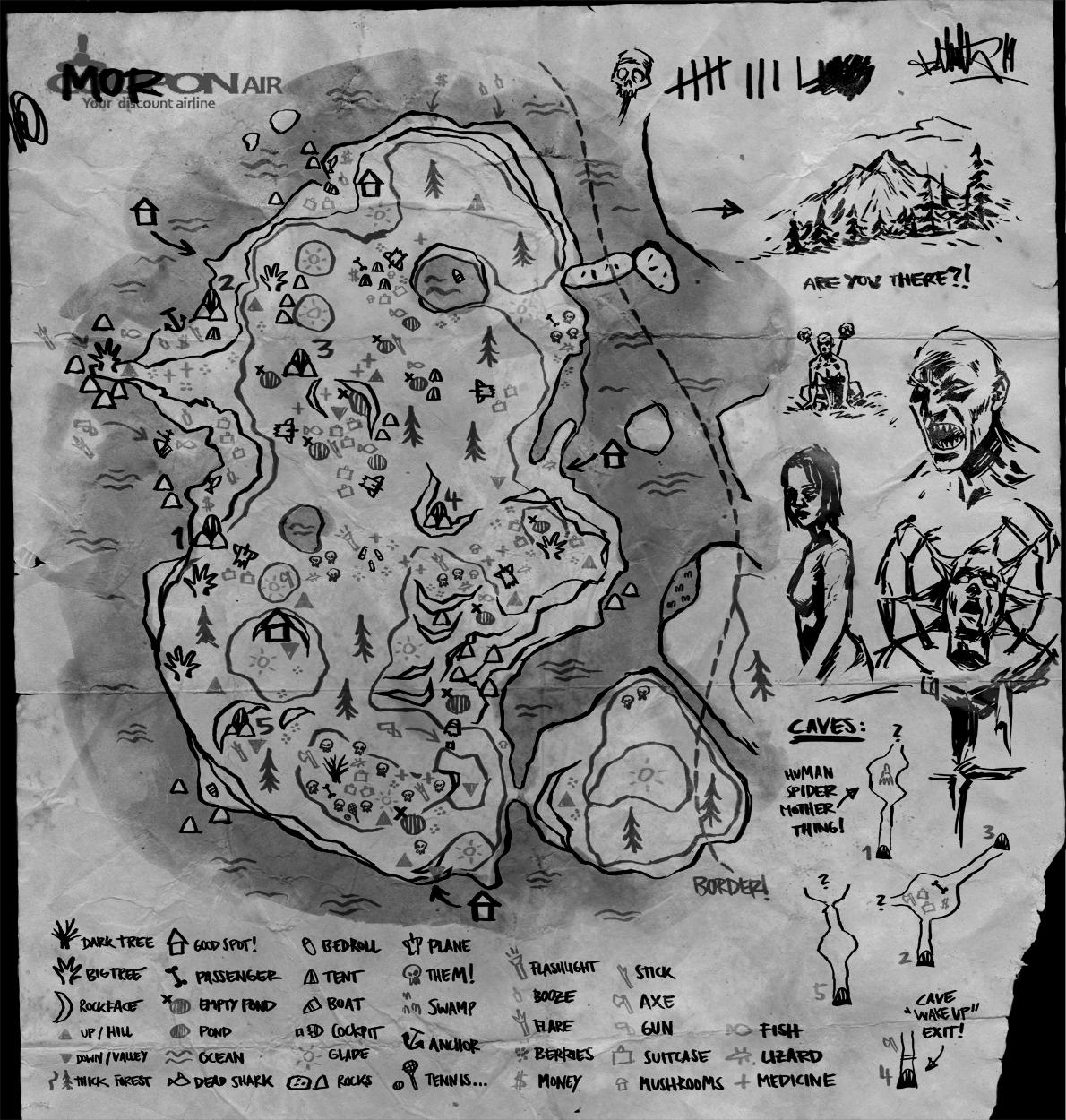 steam community guide the forest map alpha. Black Bedroom Furniture Sets. Home Design Ideas