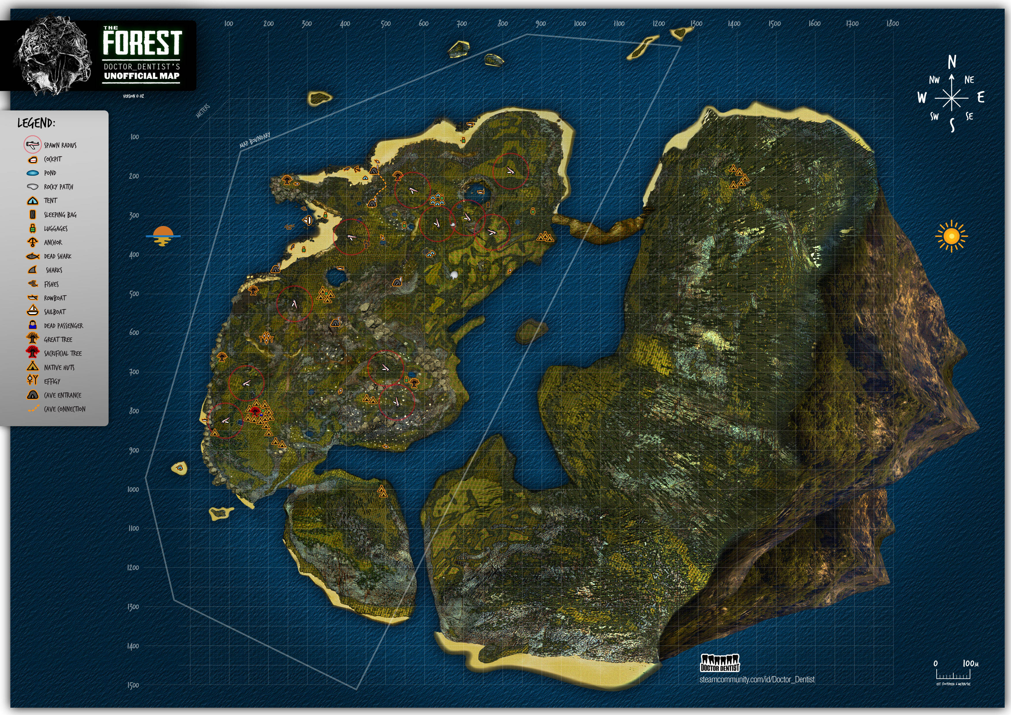 Survival Island Maps