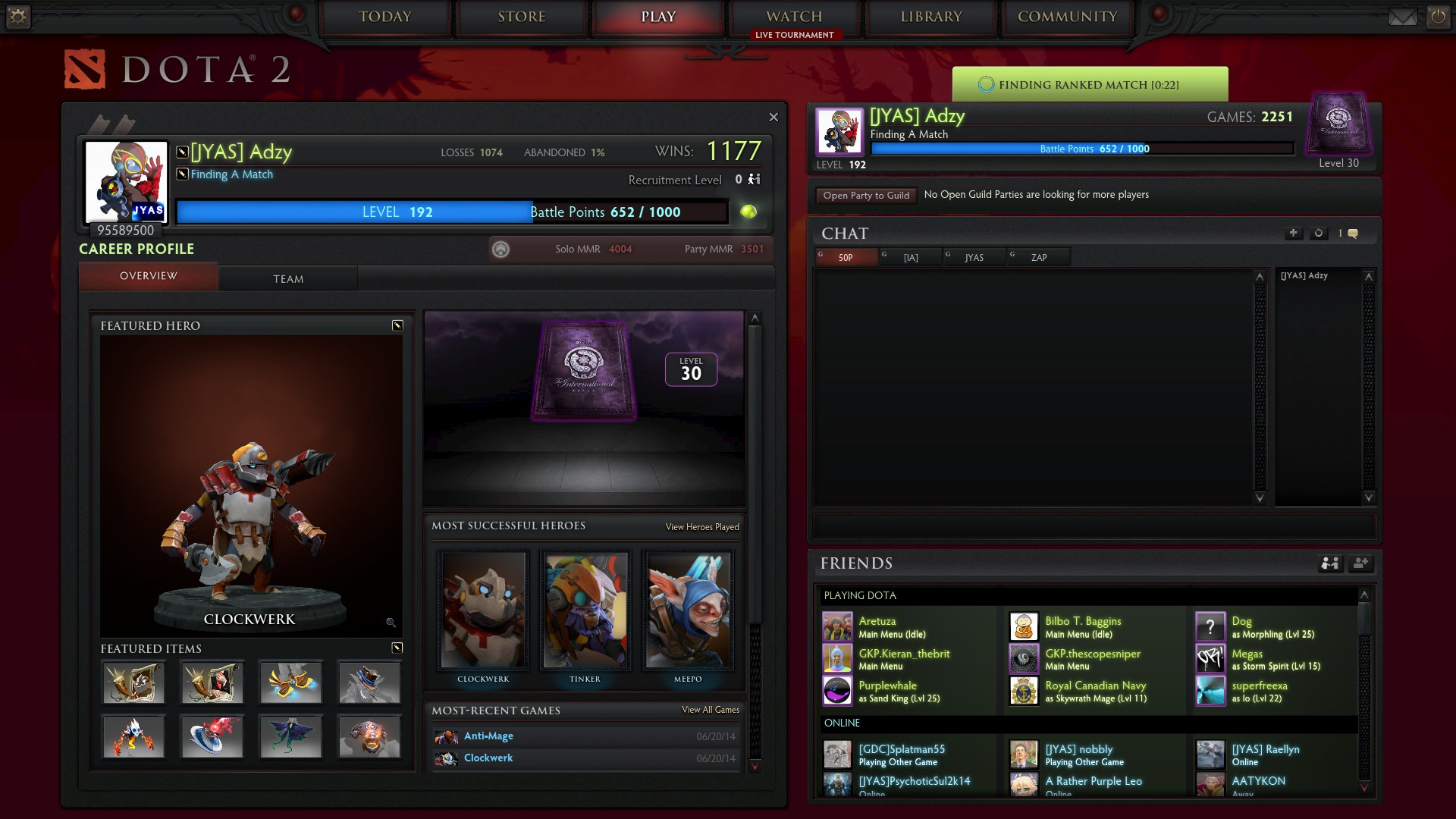 Why is dota 2 matchmaking takes forever