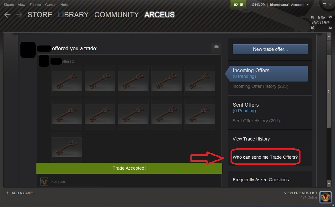 steam how to find trade url