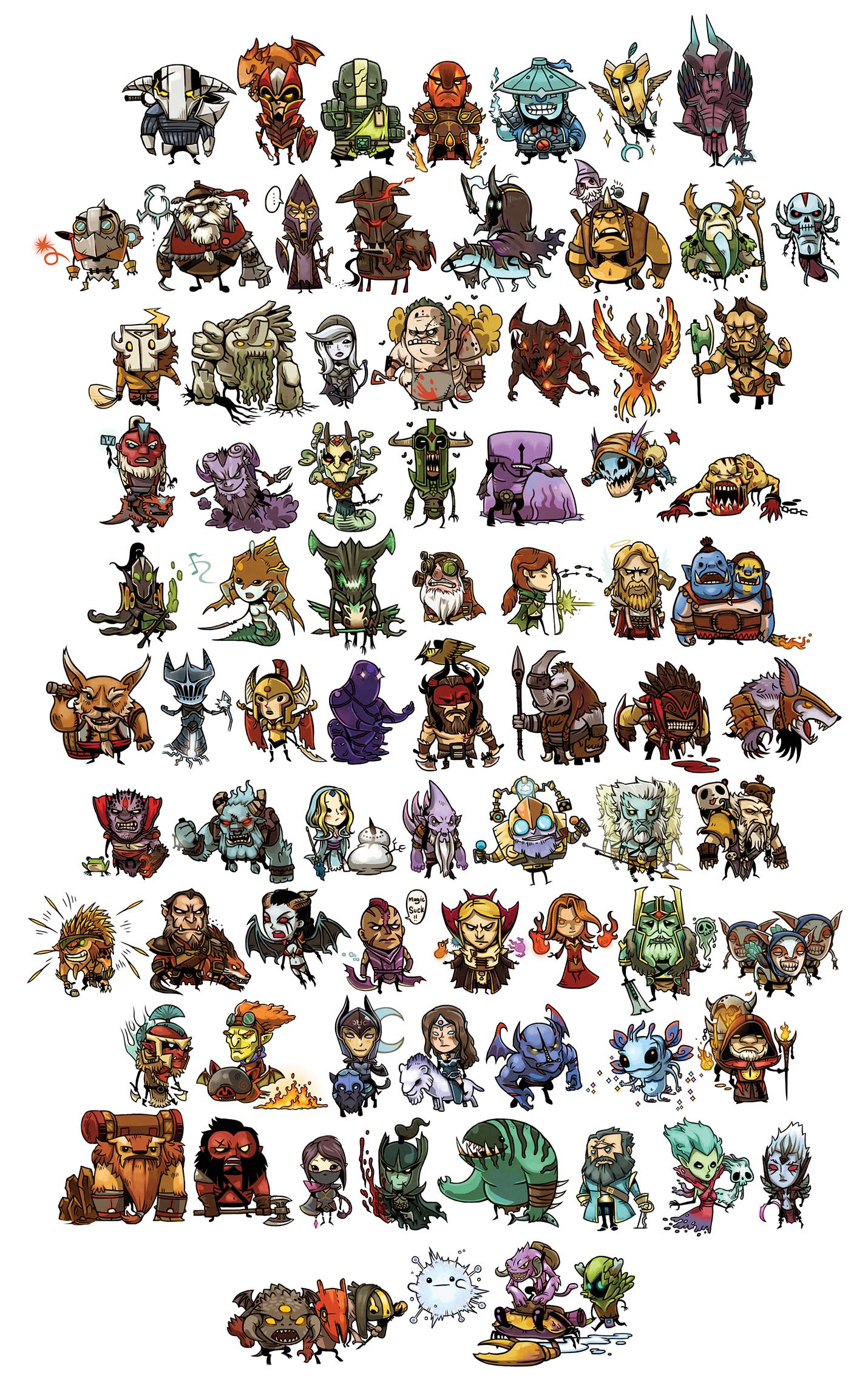 steam community mini heros by louissry