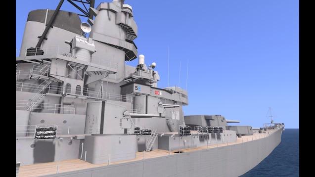 Steam Workshop :: USS Iowa BB-61