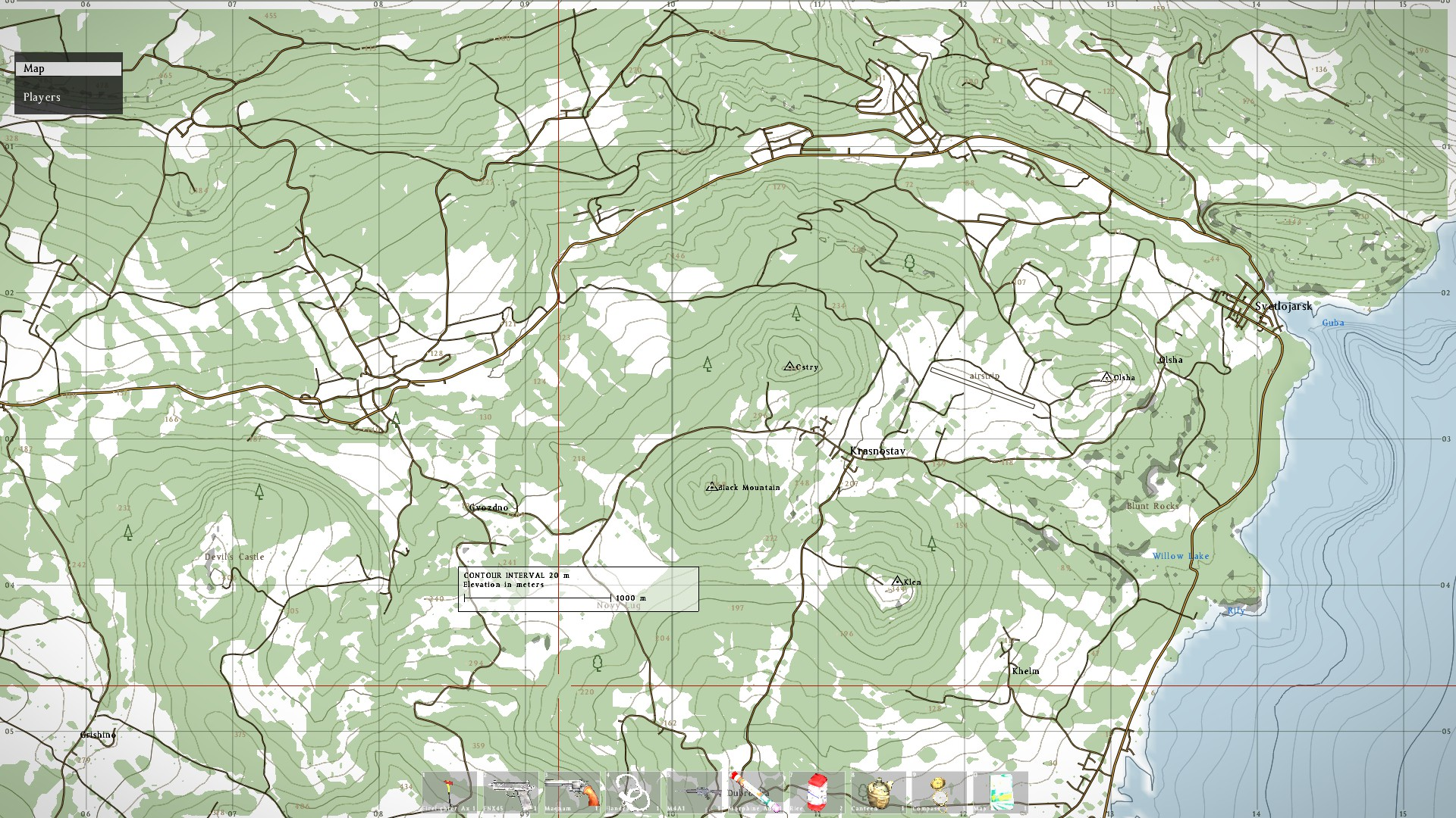Steam Community :: Guide :: Chernarus In-Game Map [OLD] on