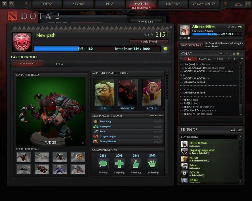 Steam Community :: Screenshot :: see the best dota 2 id and