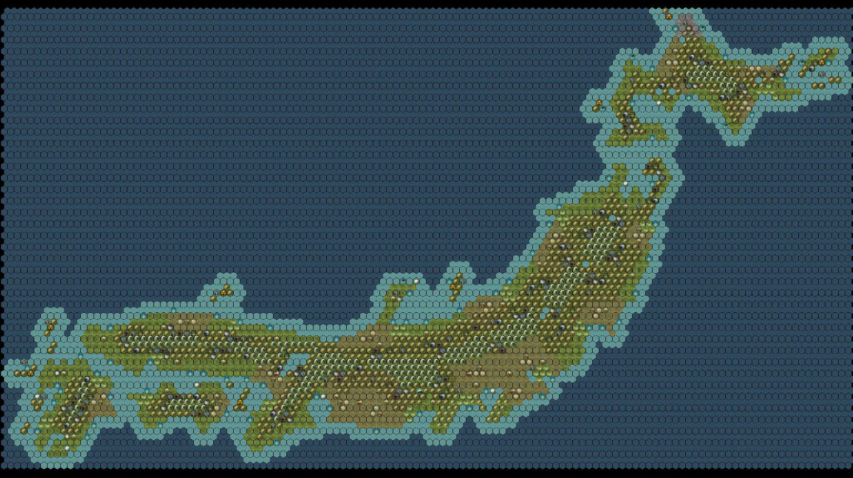 Steam Workshop Huge Japan Map - Japan map 5