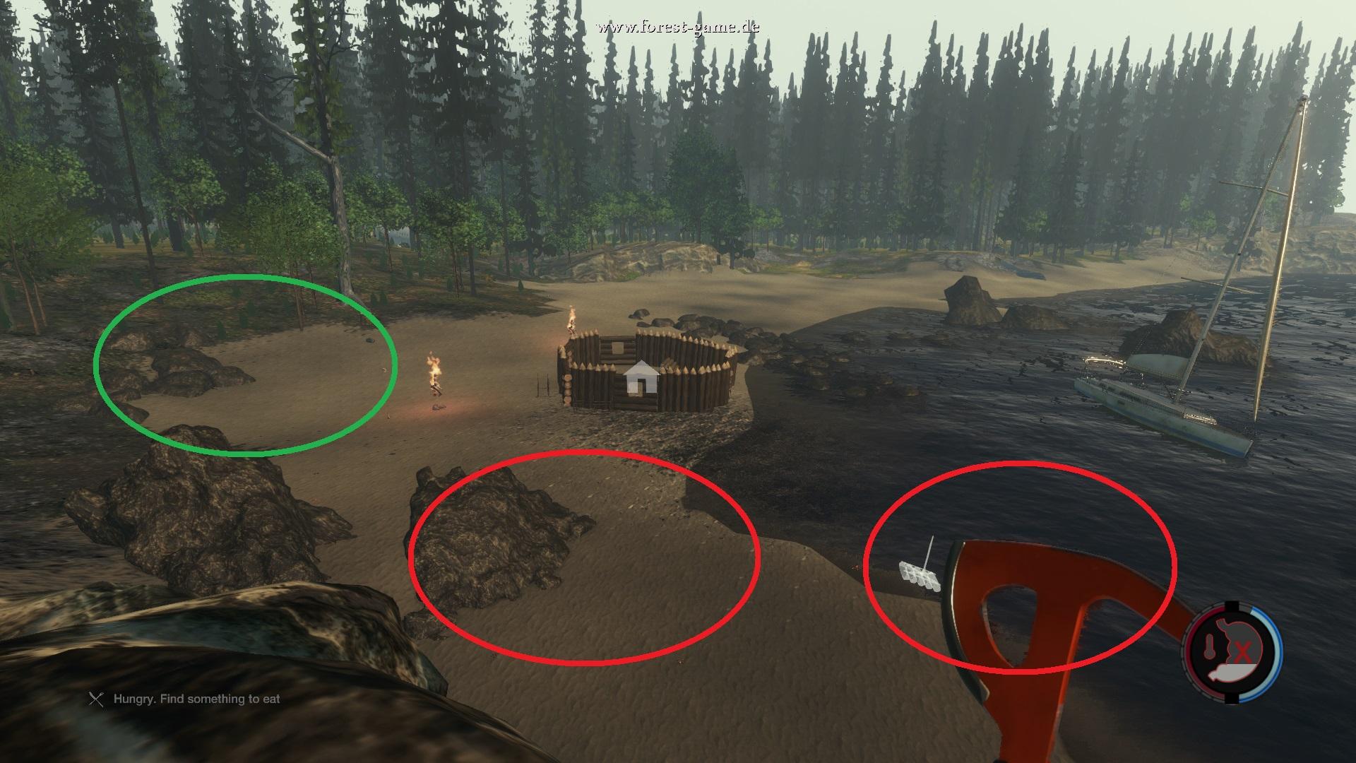 The Forest Karte Höhlen.Steam Community Guide Survival Basics Wo Stelle Ich Mein