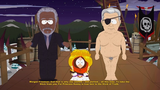 South park you got fucked in the ass