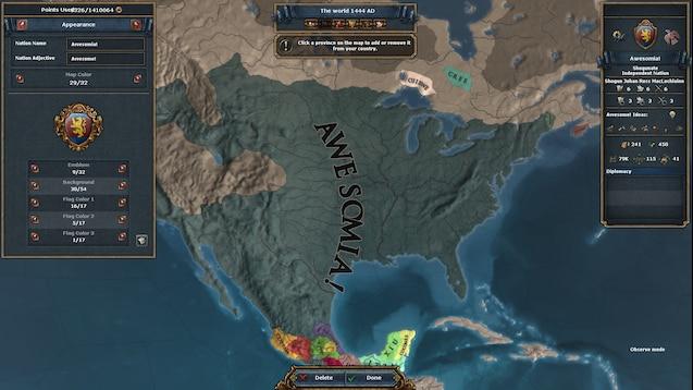 Steam Workshop :: Better Nation Designer and unlimited points (1 28)
