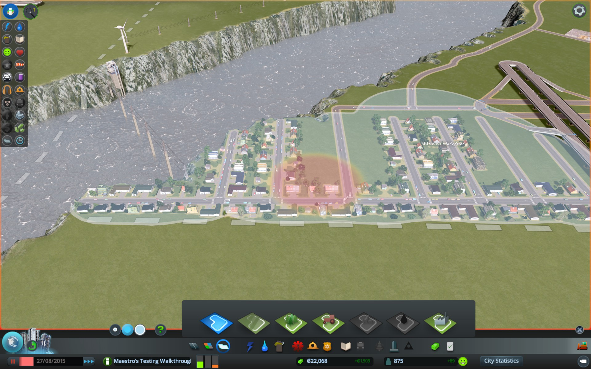 cities skylines how to create overpass