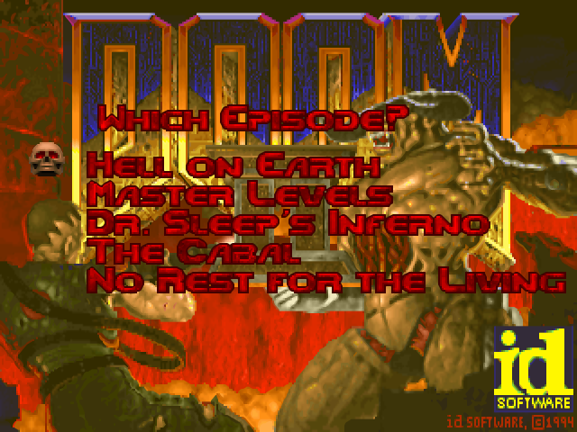 Doom playstation tc level combination mod: doom.