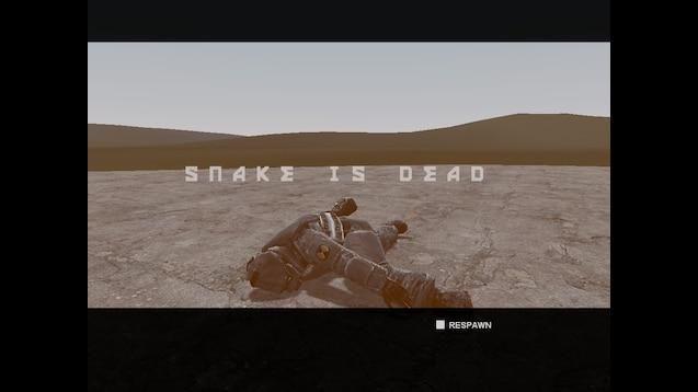 Steam Workshop :: Metal Gear Solid 3: Death Screen