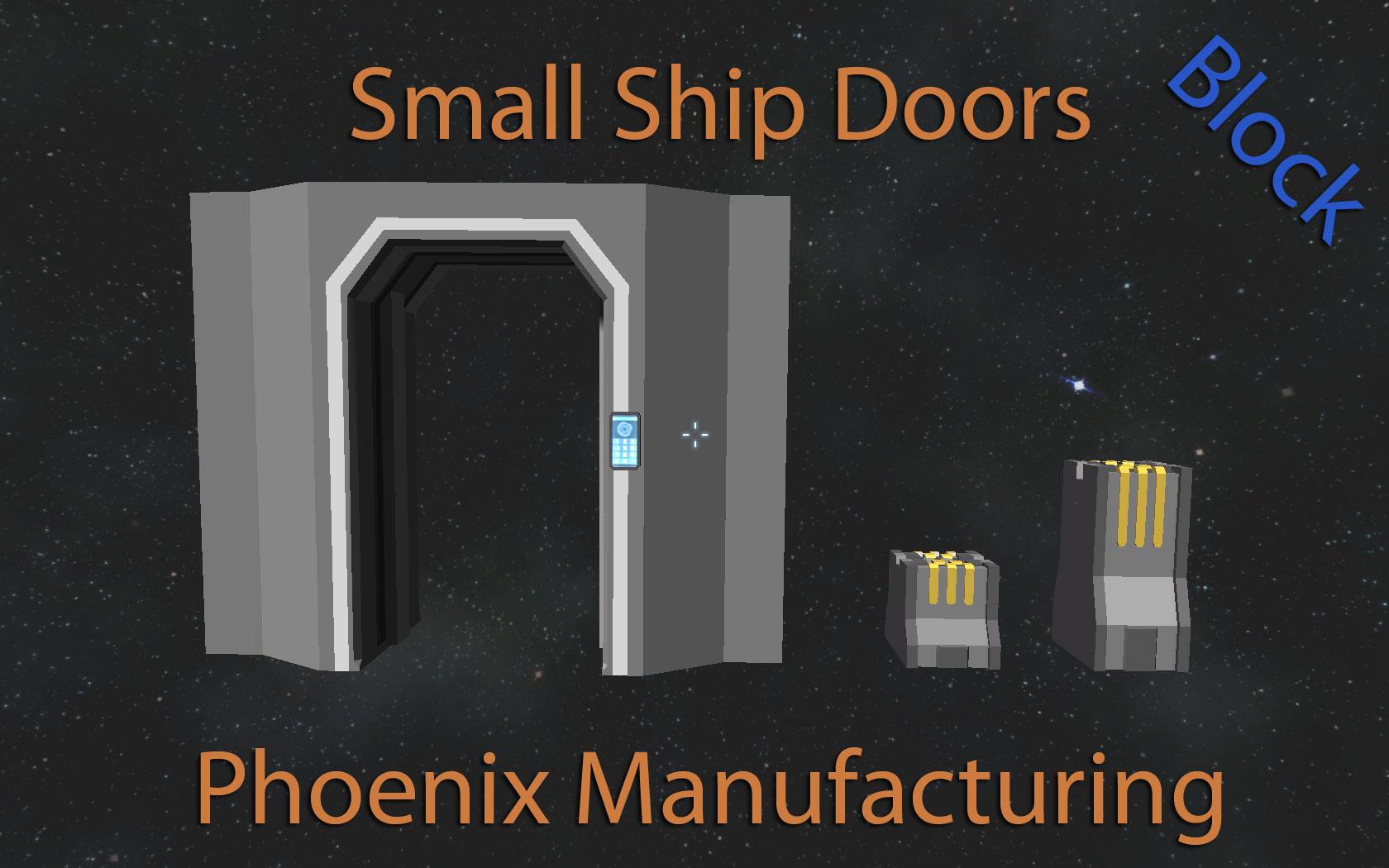 Small Ship Doors (DX11)