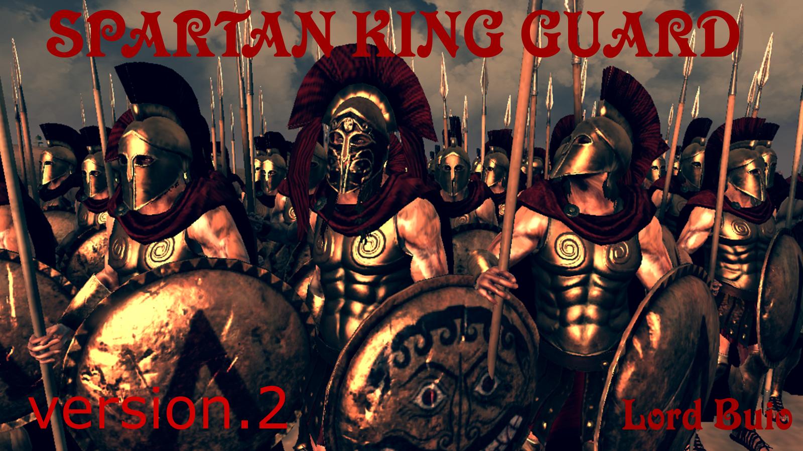 Spartan King Guard OPv.