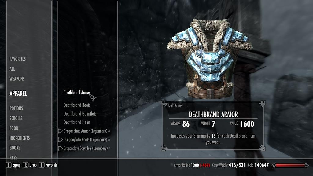Steam Community Screenshot Deathbrand Set Deathbrand Armor