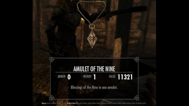 Steam Workshop :: Amulet Of The Nine-all in one