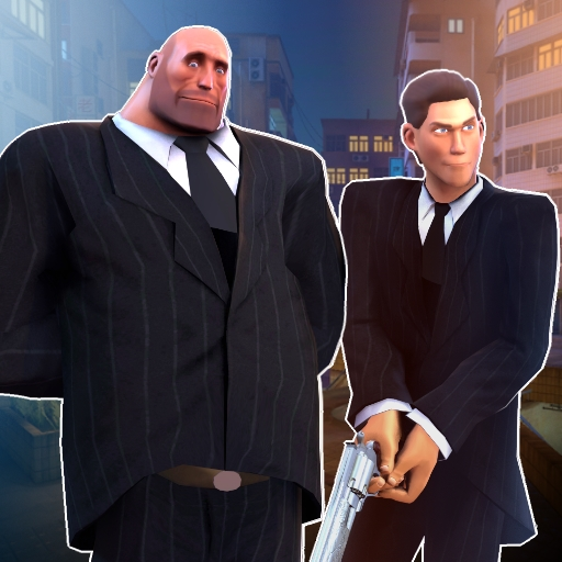 TF2 Suited Scout, Heavy (by Maxxy)
