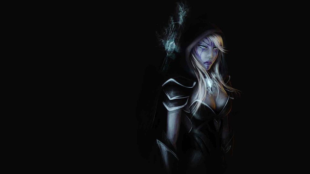 Steam Workshop Beautiful Drow Ranger