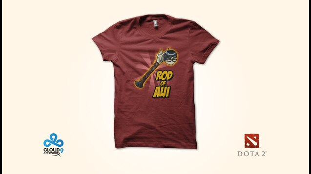 Steam Workshop :: Cloud9 Rod of Aui T-Shirt