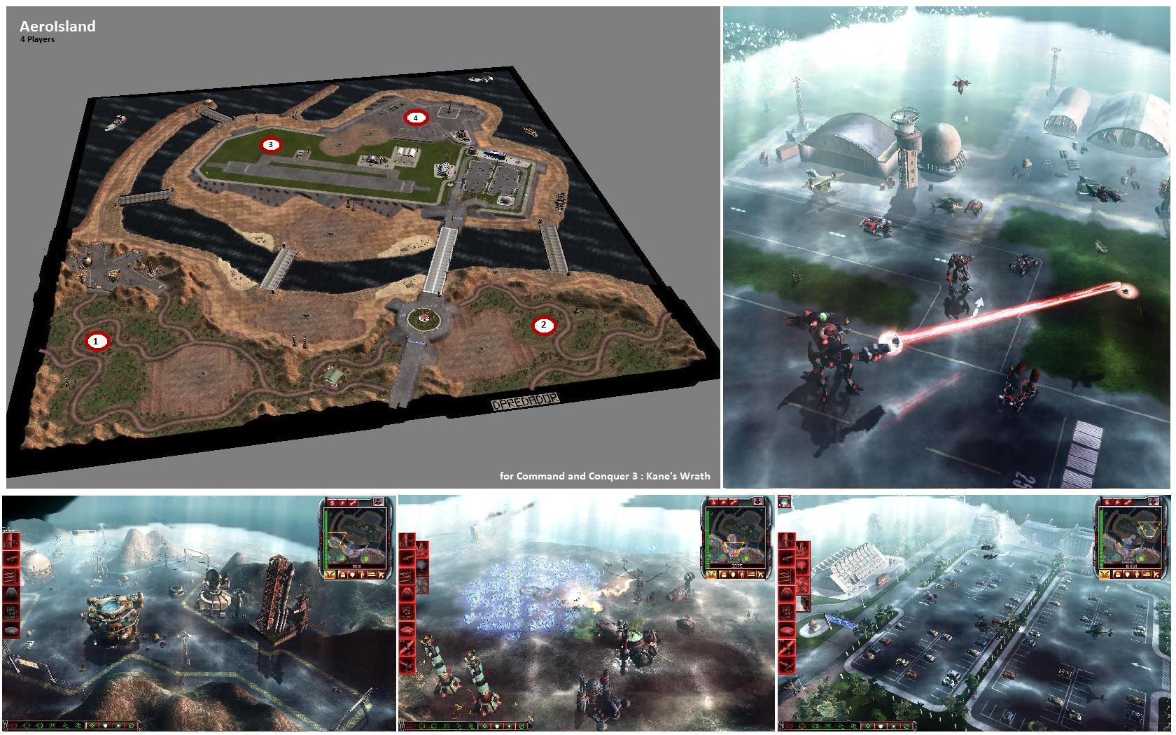 map command & conquer 3 la fureur de kane