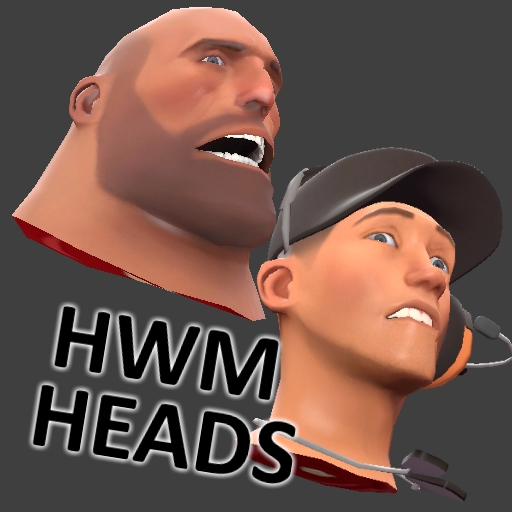 TF2 HWM Head models