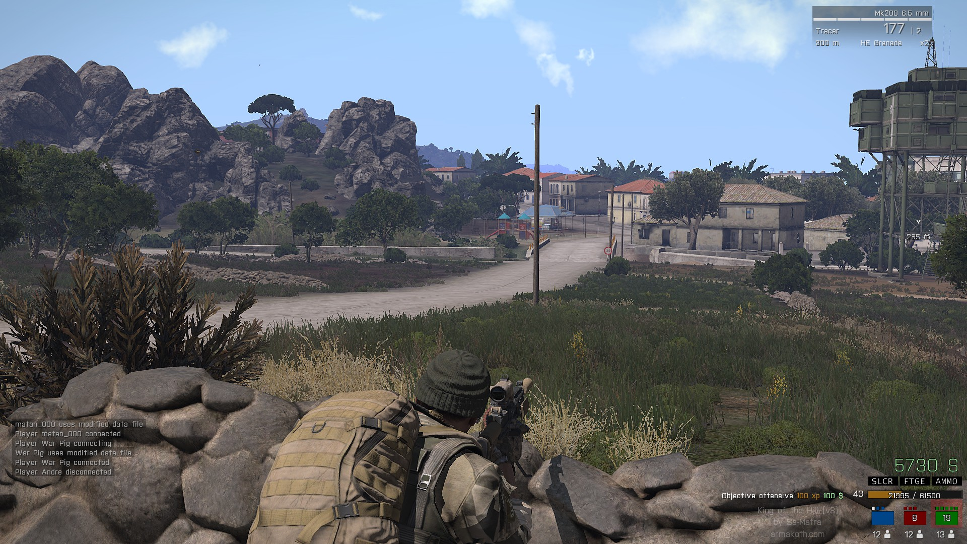 arma 3 king of the hill level hack 2018