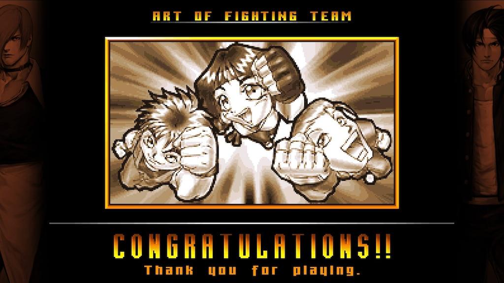 Steam Community Screenshot Got The Art Of Fighting Team Ending