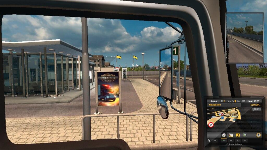 Steam Community :: Screenshot :: ATS egg at Uppsala bus depot