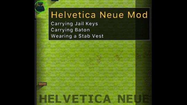 Steam Workshop :: Helvetica Neue Font