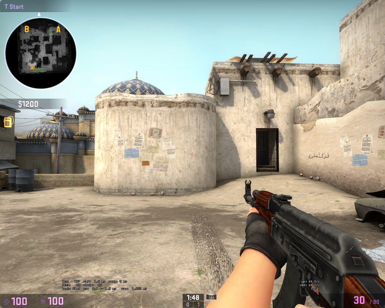 how to turn hud off cs go