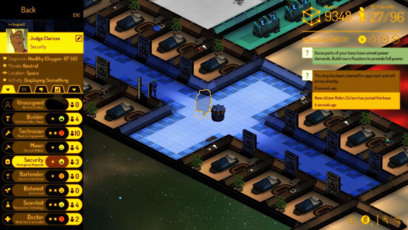 Steam Community Guide Dos And Donts Of Space Chapter 35 Circuit Wizard Screenshot This Dame Really Likes Security
