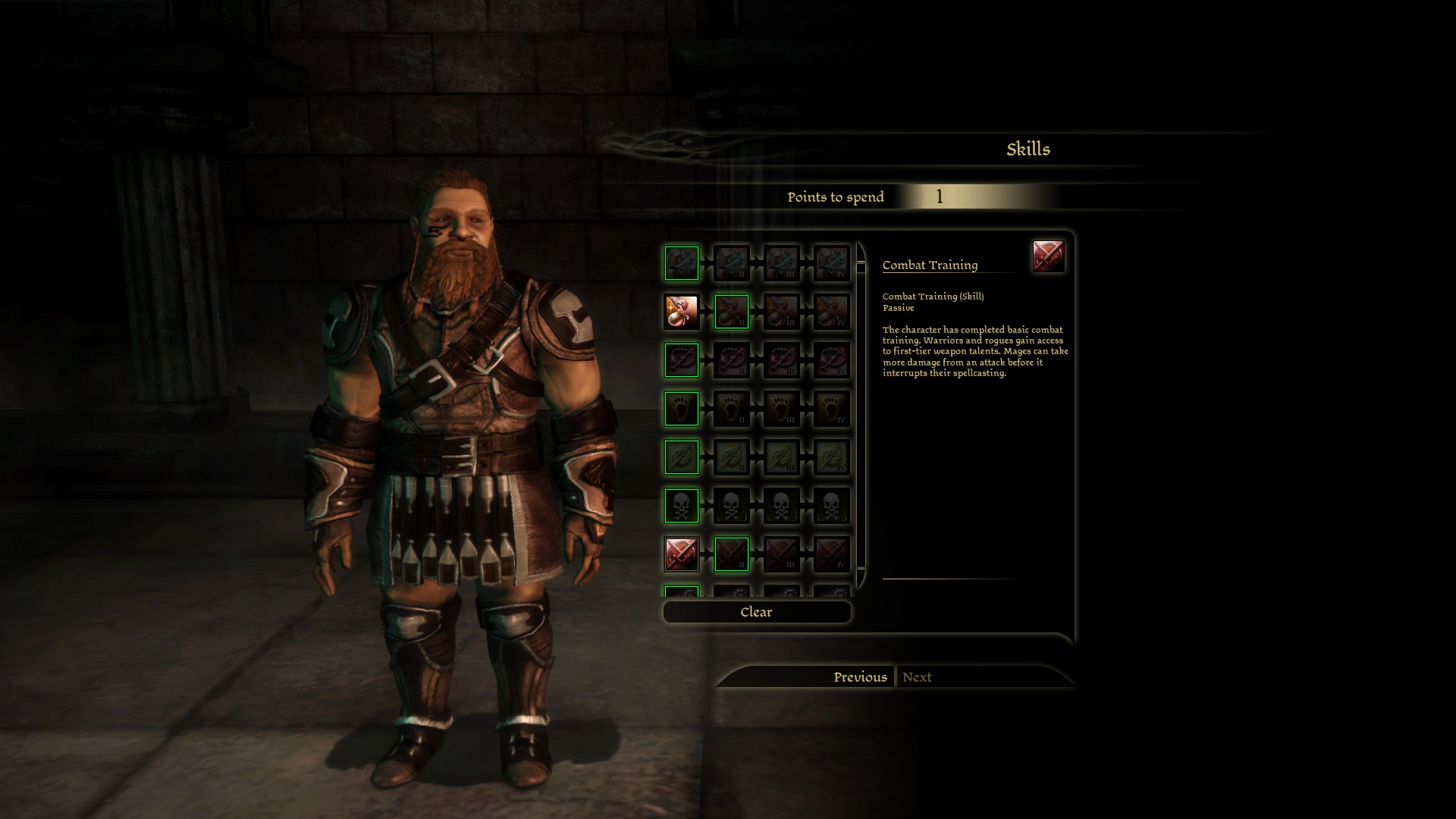 Steam community guide a guide to the laa patch official dwarf commoner warriors start with 1 point in stealing and 1 point in combat training gumiabroncs Image collections