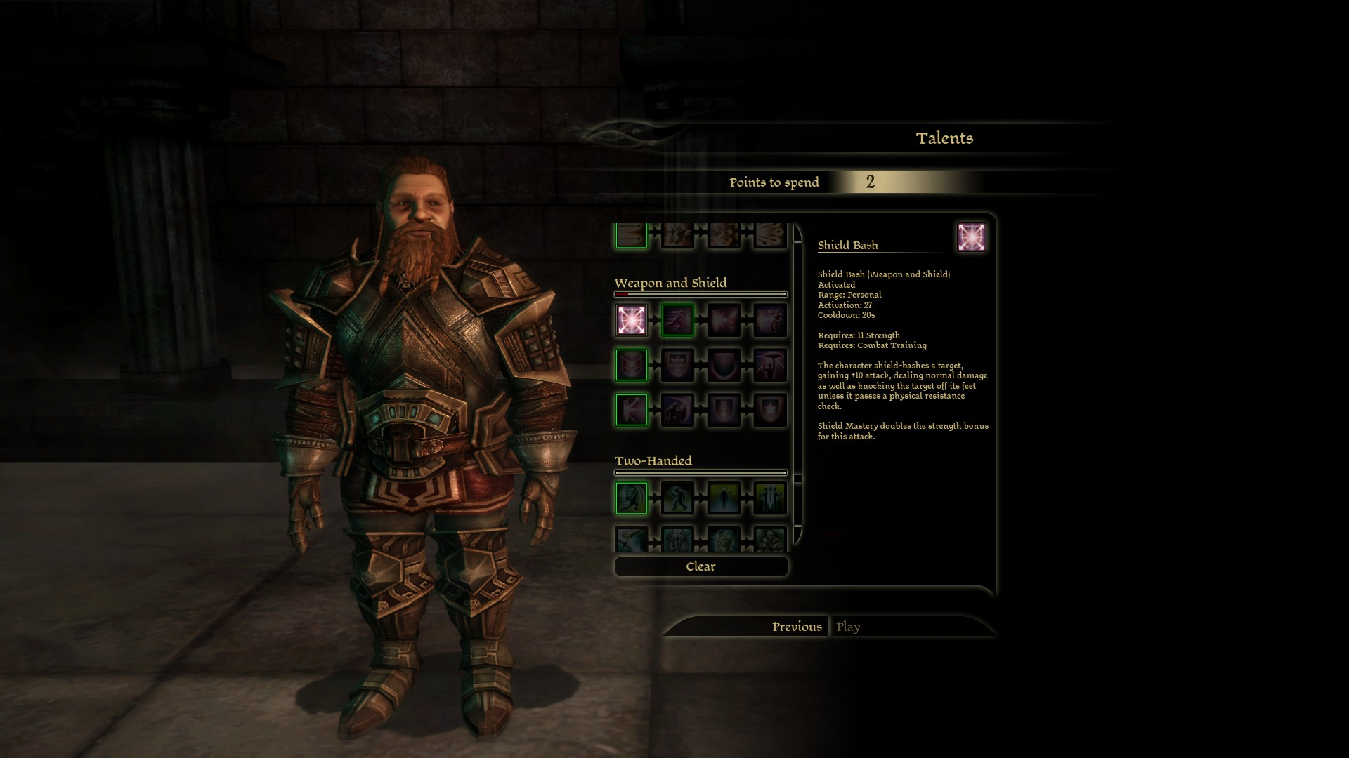 Steam community guide a guide to the laa patch official dwarf noble warrior starting talents gumiabroncs Image collections