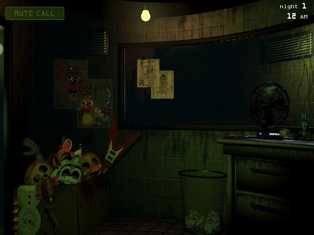 Steam Community Screenshot Sala Wallpaper 1 Fnaf 3