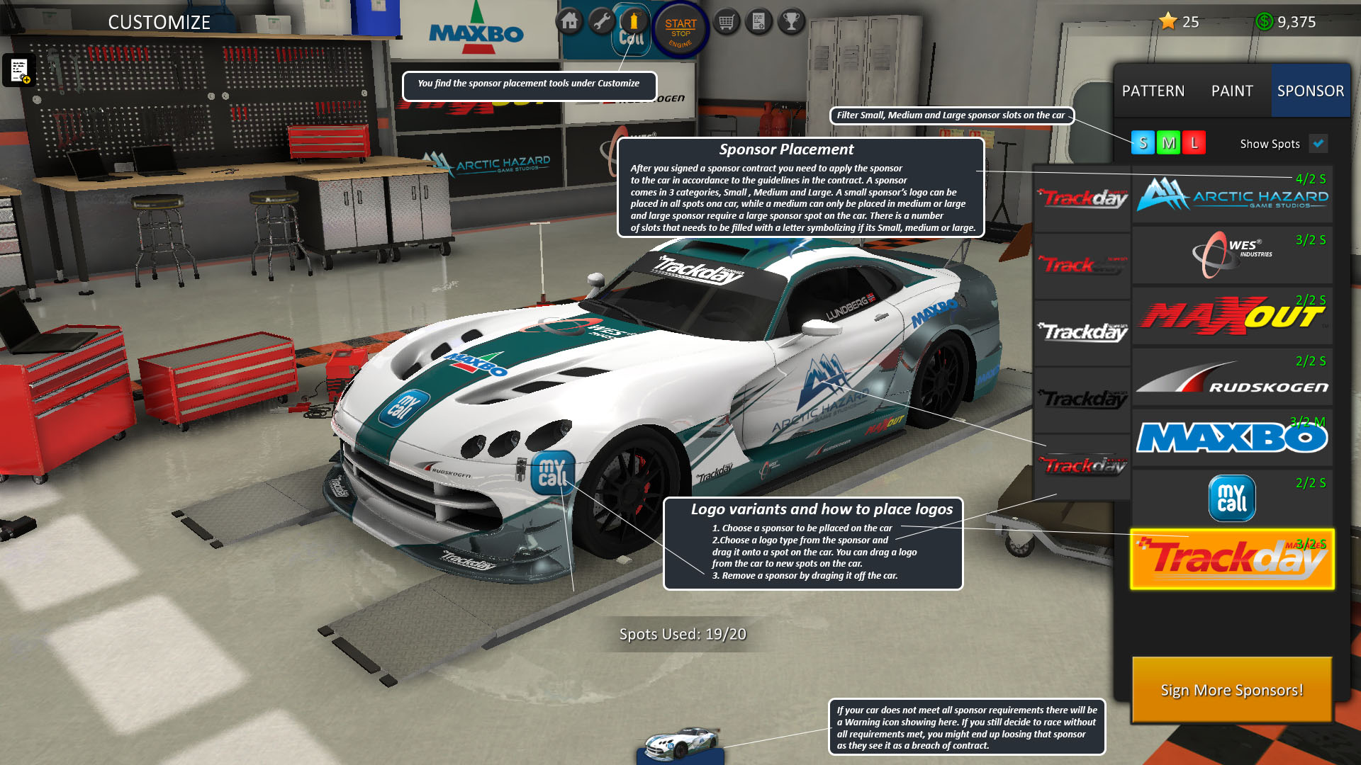 Steam Community Guide Trackday Manager ABC – Race Car Sponsorship Contract