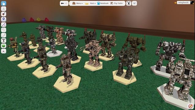 Steam Workshop :: Battletech Assorted Models and Skirmish