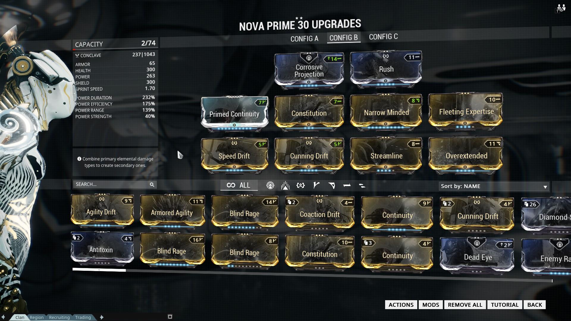 Good nova/novaprime wormhole POE build? :: Warframe ...