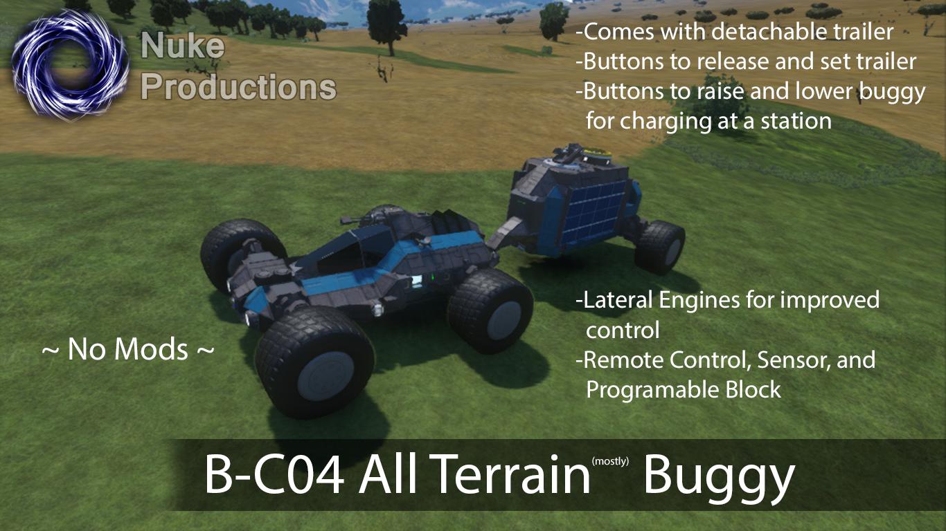 B-C04 All Terrain Buggy -- No Mods