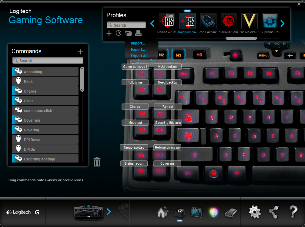 93337e11a21 Steam Community :: Guide :: Logitech G19 bindings for voice shouts