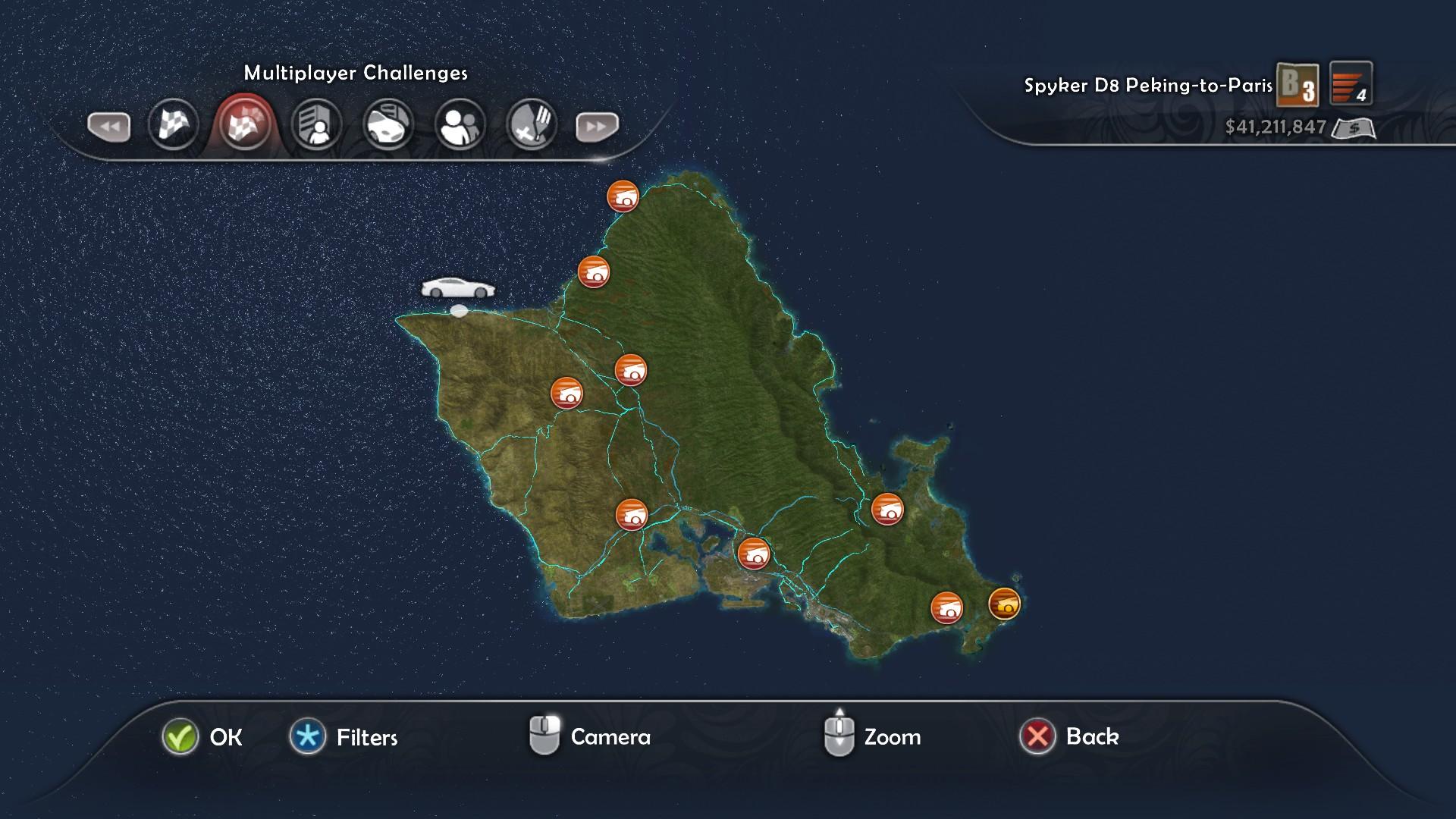Tdu2 Hawaii Map