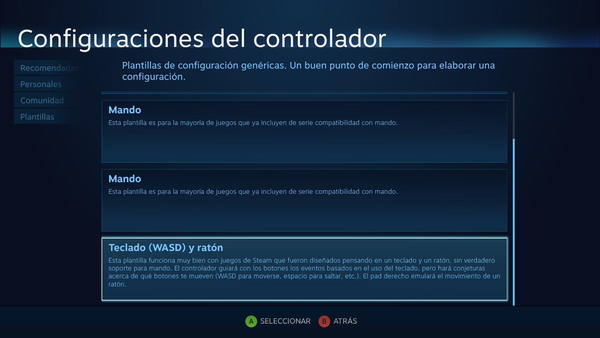 how to delete controller configuration on steam